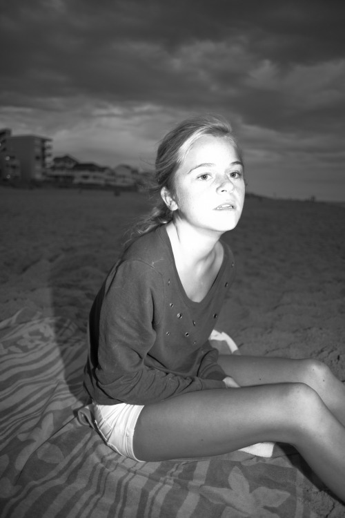 Bailey in Ocean City, August 2012