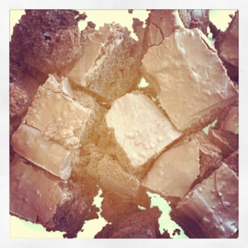 Space Brownies? Who knows. #Yummyy  (Taken with Instagram)