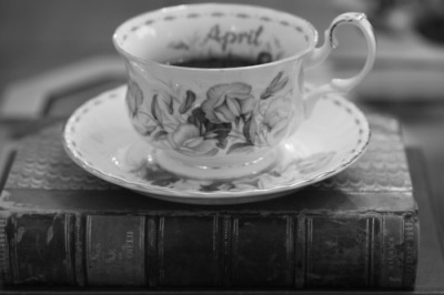 lament-for-the-past:  tea cup and a book. My favourite.
