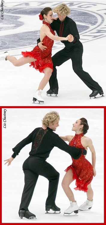 The ever-classy Meryl Davis and Charlie White skating the Tango Romantica at the 2009 NHK Trophy. Source: photography.ice-dance.com/2009-2010-season/2009GP-NHK/Dance/CD/