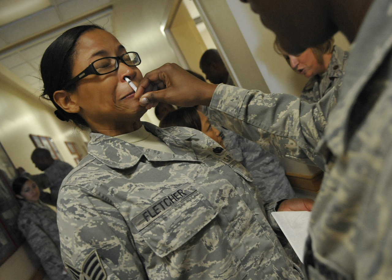 "Army Issues Anti-Suicide Nasal Spray As Military Suicides Double The military suicide rate doubled in July. That's one of our troops, almost every day. To come up with an answer, the Army recently gave 3 million dollars to a university of Indiana research center, and those researchers came back with this: Anti-Suicide Nasal Spray. Katie Drummond of The Daily reports researchers found a naturally occuring neurochemical called thyrotropin-releasing hormone, or TRH, that has euphoric, calming, anti-depressant effects. News of the nasal spray comes as a relief to some, who had to endure spinal taps for injections of the medicine. The Pentagon, which tracks military suicides, reported that troops have committed the act at an 18 percent increase over the same period last year. Now, more troops die by their own hands that by the hands of the Taliban in Afghanistan. The spray is only possible because of advances in ""nanotechnology delivery systems."" Researchers plan to run a full battery of trials over the next few years, and hopefully put the spray not only in the hands of soldiers, but civilians as well."