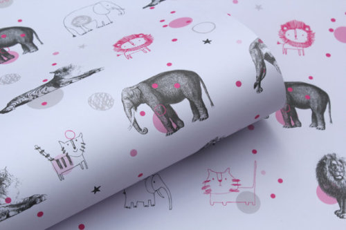 Wrapping Paper from Cotton-Baked