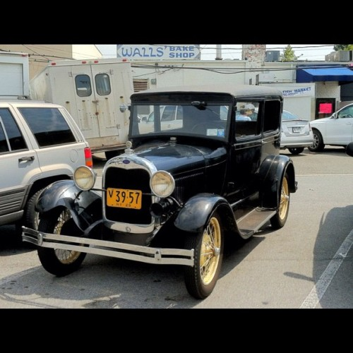 1932 Ford Model A- The owners of these kind of cars almost always have the best stories to tell.  (Taken with Instagram)