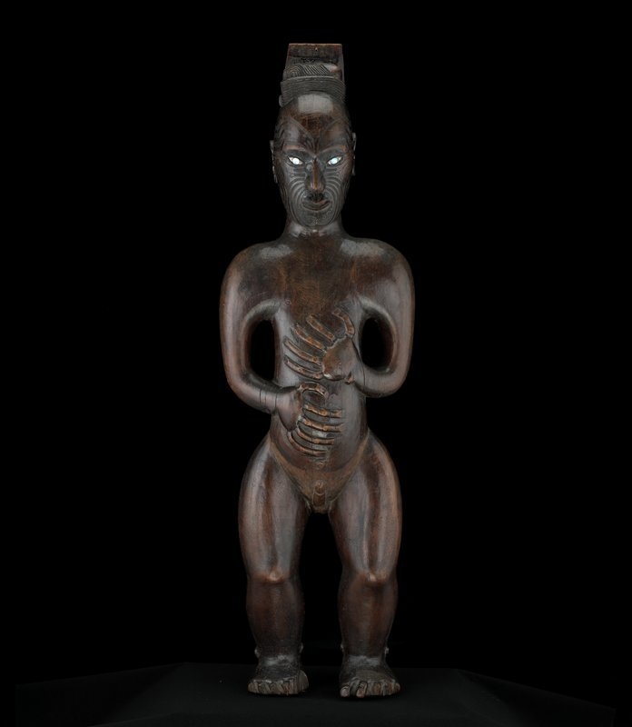 omgthatartifact:  Post Figure Maori The Minneapolis Art Institute