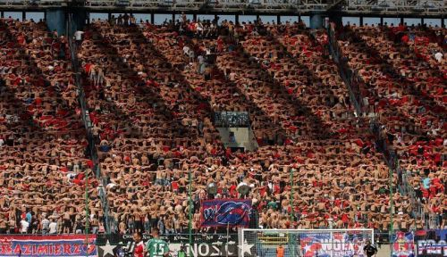 "Amazing image of #Wisla #Krakow #Ultras doing what English people like to call ""the Poznan"" a1.sphotos.ak.fbcdn.net/hphotos-ak-ash… — Ed Gibbons (@Gibbe84) August 21, 2012"