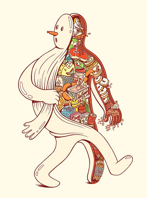 "plon:  ""Brosmind"" Illustration by robpaella on Flickr.A través de Flickr:Posted via email from roborange.posterous.com/brosmind-illustration"