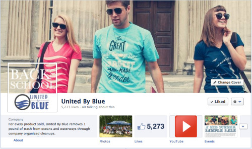 Like United By Blue? Like Facebook? Like UBB on Facebook!
