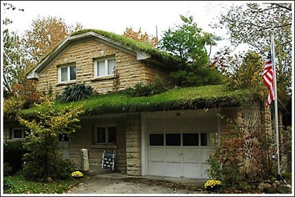 honbluehawaii:  Green roofs don't just look cool, they also increase insulation, lower your energy bill, reduce storm water run-off, and lower greenhouse gas emissions.