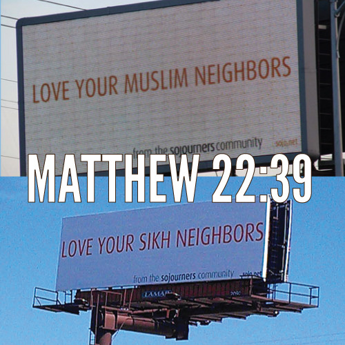 "sojomag:  Ad Campaign Calls on Christians to 'Love Your Neighbors' of All Faiths  ""It is amazing that loving our neighbor is such a radical statement, as it is foundational to the teachings of Jesus,"" said Rev. Steve Jerbi, pastor of All Peoples Church, which has been actively involved in responding to the shooting at the gurdwara. ""Yet, the walls of division, fear, and even just knowing our neighbors is too often our reality. This statement reminds us, in light of both tragedy and in everyday life, that we are called to love our neighbors. This is a chance for Christians to continue to express not just our sympathy, but our love for sisters and brothers in the Sikh community."""