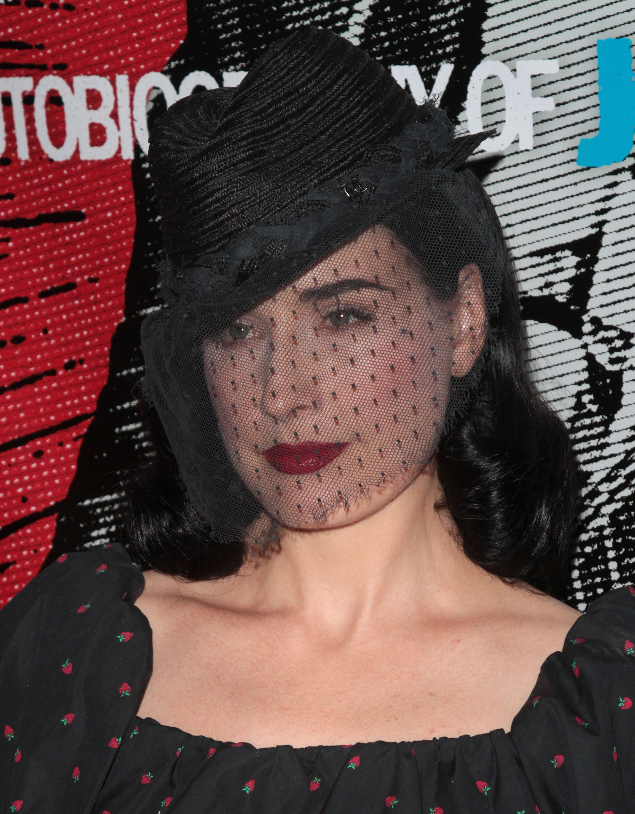 suicideblonde:  Dita Von Teese at the Johnny Ramone Tribute in LA, August 19th