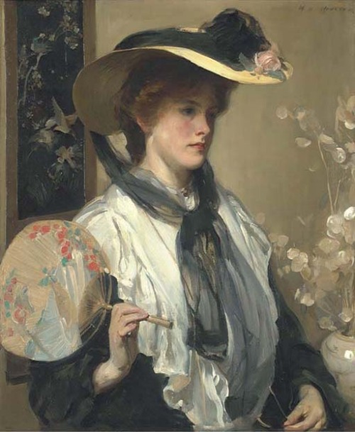 monsieurleprince:  Walter Ernest Webster (1878 - 1959) - The Japanese fan
