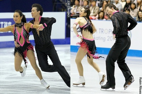 Cathy Reed and Chris Reed's Rhumba costumes at the 2012 Worlds and 2012 World Team Trophy. Sources: photography.ice-dance.com/2011-12/2012Worlds/Dance/SD/12W-SD-1102-RR-LC.jpg.php photography.ice-dance.com/2011-12/2012WTT/Dance/SD/12WTT-SD-0338-RR-RR.jpg.php
