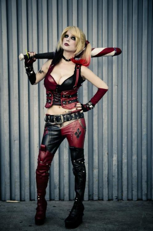 Harley Quinn Arkham City Cosplayer: Me Submitted by maniacalxjester