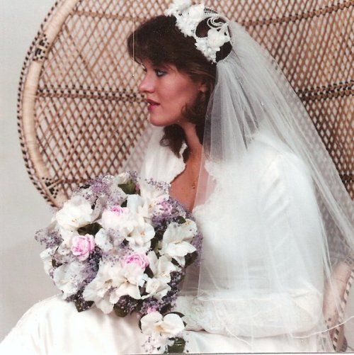 One more wedding photo indulgence for my 30th anniversary today.  Where has the time gone?