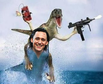 hiddlesharkosaurus is hard core. that is all.  carry on.