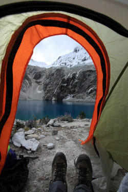 Laguna 69 campsite by tik_tok on Flickr.