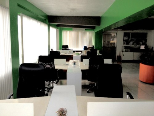 a new coworking space in Davao called myflex at 199 per day per desk