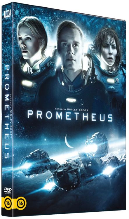 PROMETHEUS HUNGARIAN DVD COVER. LOOK AT DAVID ALL FRONT & CENTER!
