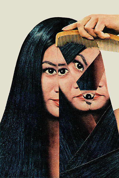"""Normalization"" by Eugenia Loli  Follow the artist: TumblR 