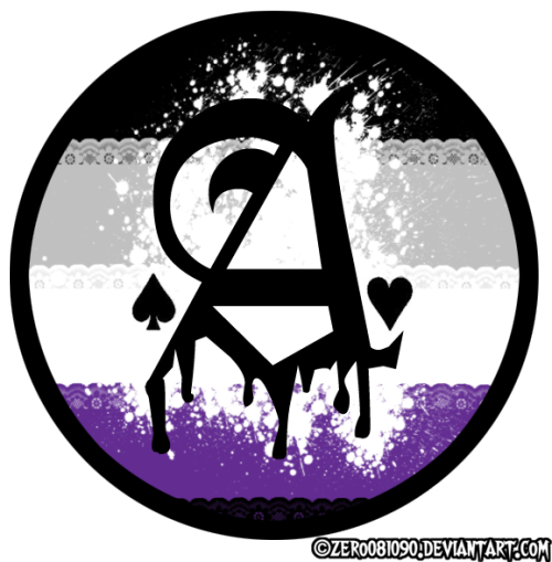 asexualxbisexual:  Ace gothic by zero081090