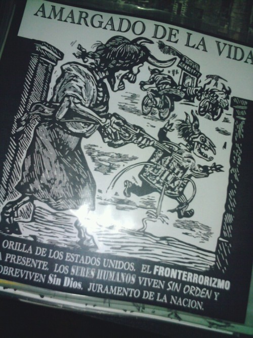 2 - Amargado De La Vida 4 way split w/ Fronterrorizmo, Sin Orden, Sin Dios & Seres Humanos I didn't so much forget this as I wanted a reminder of it's kick ass.