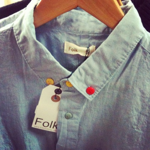the detail is insane @folkclothing in store now (Taken with Instagram)