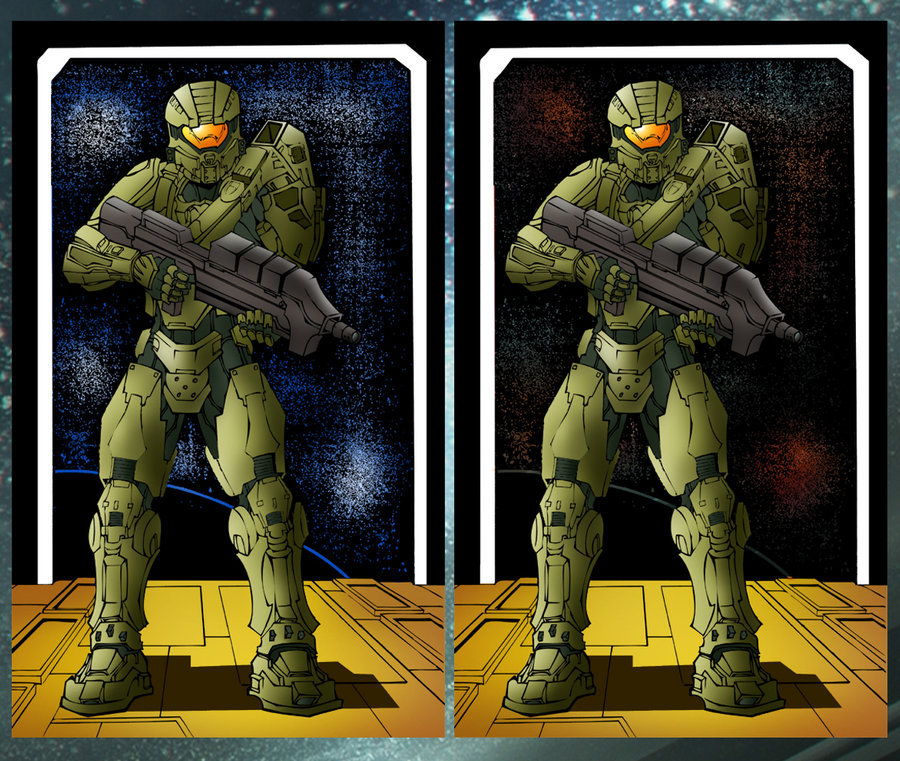 Master Chief by Kar123 by ~ChibiCelina