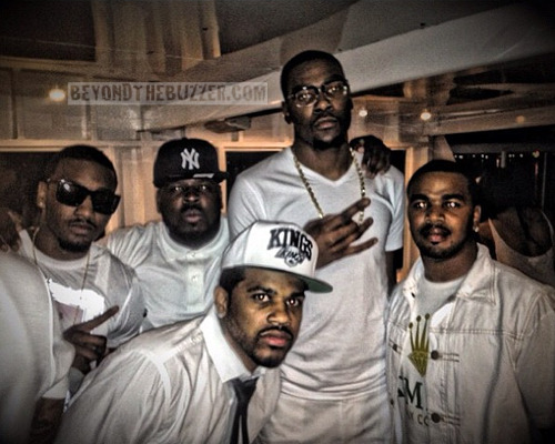 Photo of John Wall & his friend celebrity  Kevin Durant -