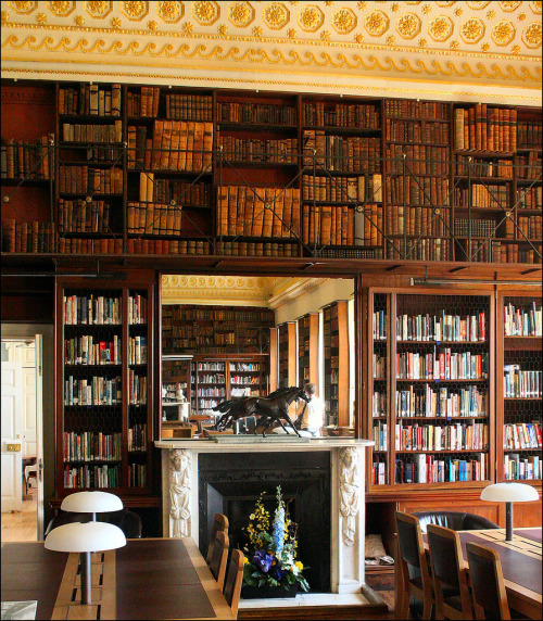 teachingliteracy:  Stowe House Library (by Canis Major)