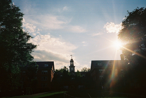 because sunrises are always nice(wriston quad)
