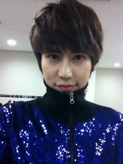 shersher-imnida:  Kyu in jacket from Secret Garden :)
