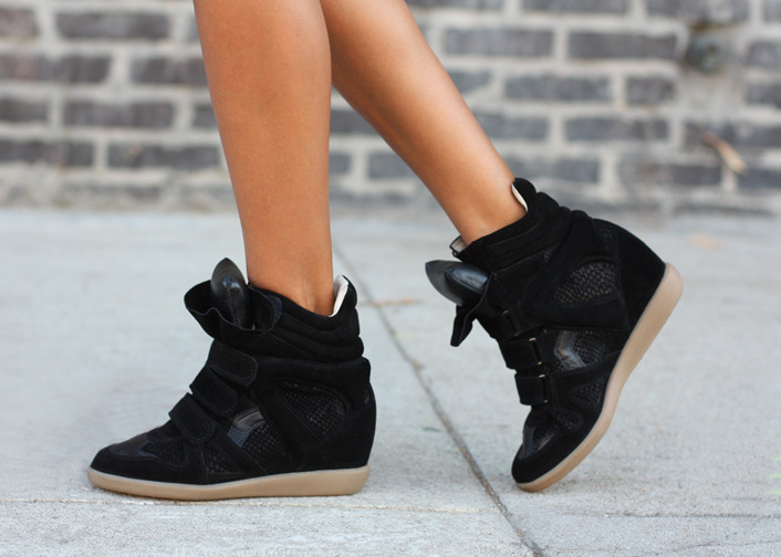 Sneakers: Isabel Marant  (image: sincerelyjules)