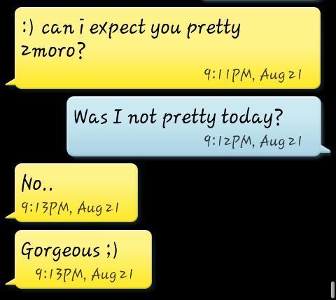 My boyfriend is the best!