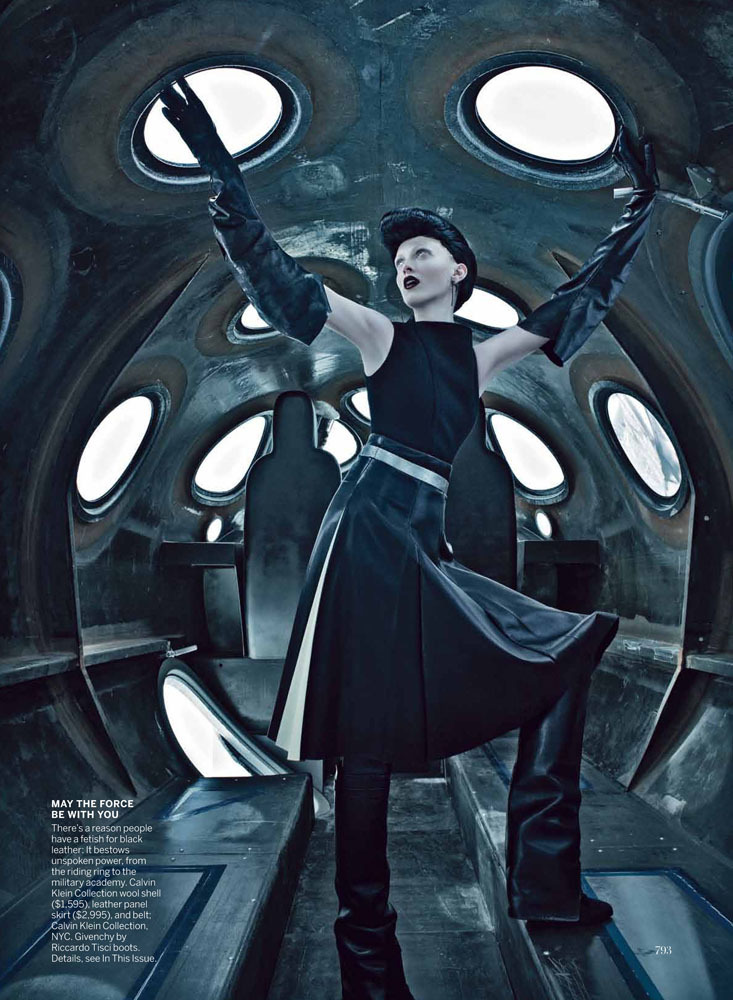 US VOGUE September 2012Karen Elson by Steven Klein