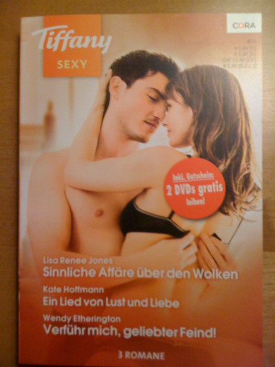 The prof got me a romance novel…in German!