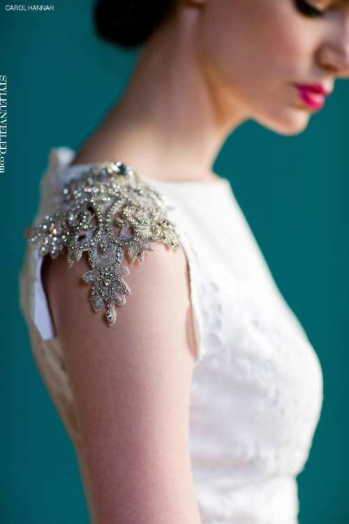 (via Style Unveiled - Style Unveiled | A Wedding Blog - Carol Hannah Wedding Dresses 2013 Part I)