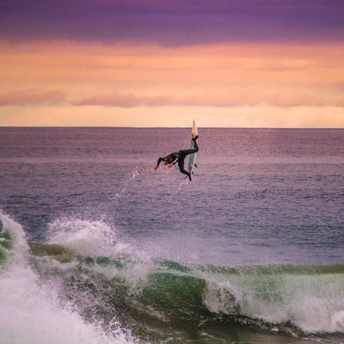 The point #mugu #pro #surfer #surf #sunset #surfing #pro #verharst (Taken with Instagram)