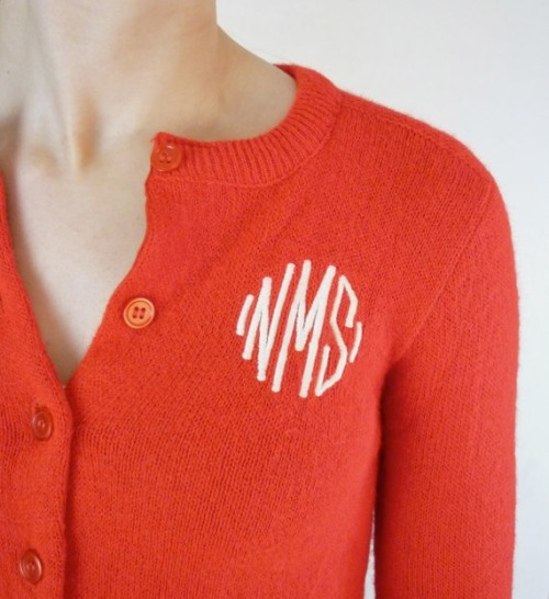 love- want for fall 2012 - monogram to the max