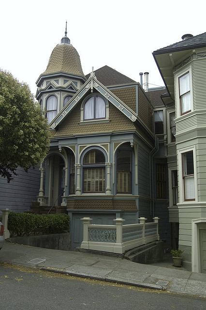 Queen Anne Tower Style Home