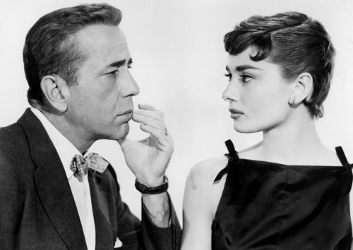 Watching Sabrina for the first time and Audrey Hepburn is amazing incredible unbelievable. God's gift to man. Also Humphrey Bogart's character is pretty great. Embodiment of the progressive promise of post-war industry. Better living through chemistry! Rising tide lifts all boats! /end/History nerdage.