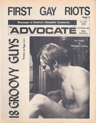 45 Years of Stirring the Pot Ever since the first issue of The Advocate clandestinely rolled off the presses in 1967, the content of the magazine has engendered debate, adulation, and occasionally venom.