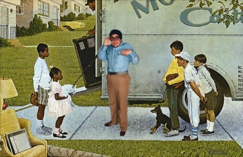 Norman Rockwell's Moving In