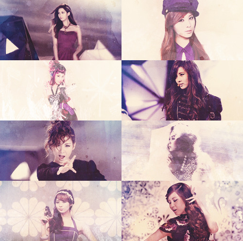 picspam/color: seohyun + purple - requested by anon