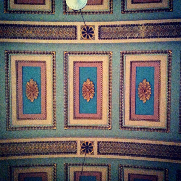 #pattern #ceiling #chapel #design   (Taken with Instagram)