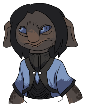 Just getting stoked about Guild Wars, here's a quick asura.