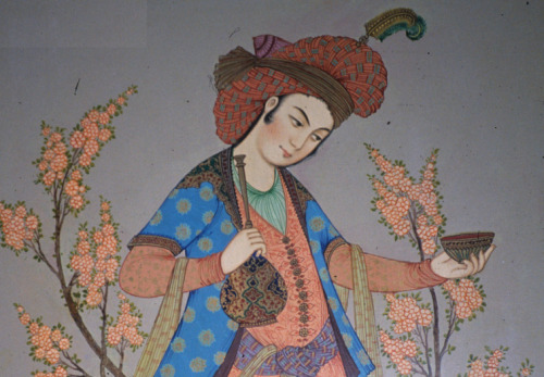 sombhatt:  detail from a safavid era painting.