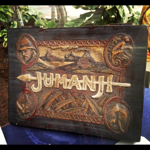Saw this on the Sony Studios tour today!!! #JUMANJI!!! (Taken with Instagram)