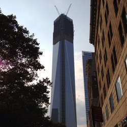 New WTC (Taken with Instagram at World Trade Center)
