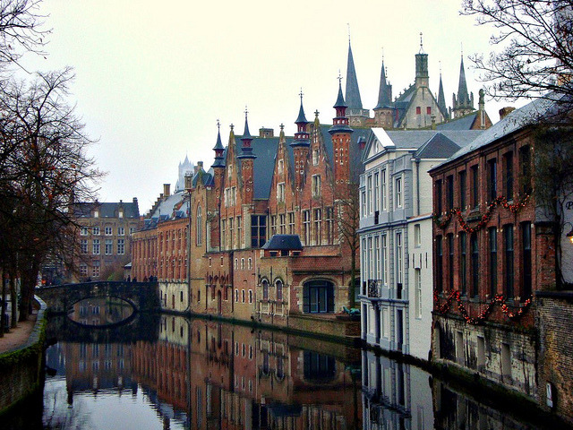 | ♕ |  'Venice of North' Bruges - WHS in Belgium  | by © Ferry Vermeer | via ysvoice