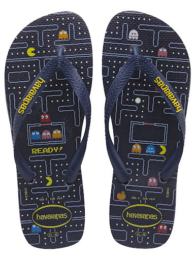 mogwaimom:  Pac-Man Sandals by Havaianas, really want this!  #inlove #pac-man havianas